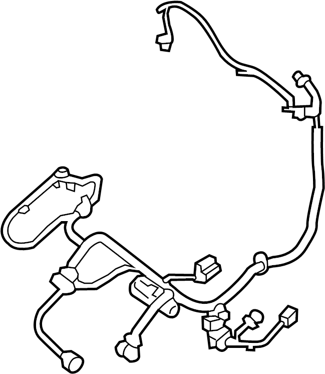 Nissan Pathfinder Power Seat Wiring Harness (Left, Front