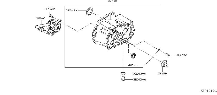 Nissan Sentra Clutch Release Bearing and Slave Cylinder