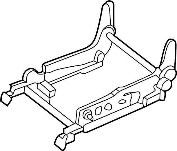 Nissan Pathfinder Seat Adjuster (Left, Front). WITHOUT
