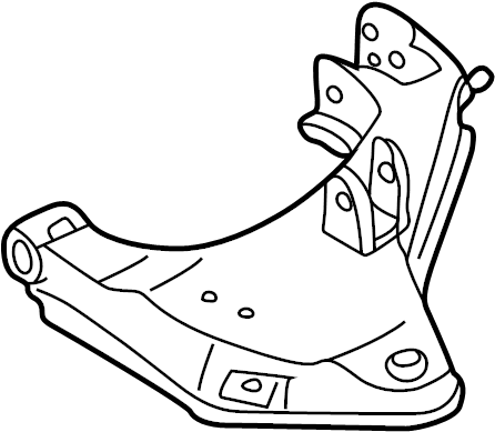 Nissan Xterra Suspension Control Arm (Left, Front, Lower