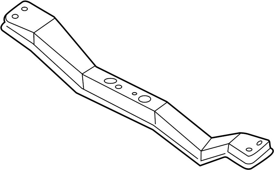 Nissan Xterra Transmission Crossmember (Rear). ENGINE