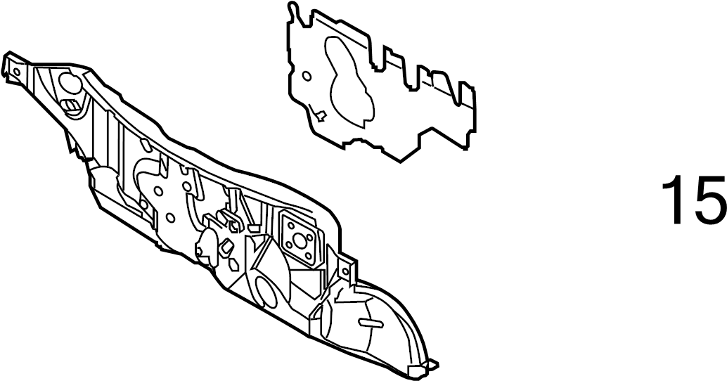 Nissan Murano Engine Compartment Insulation (Left, Lower