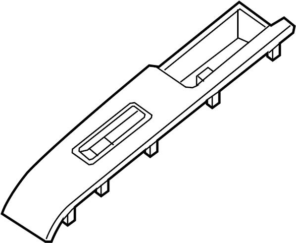 Nissan Titan Finisher Power Window Switch. (Left, Front