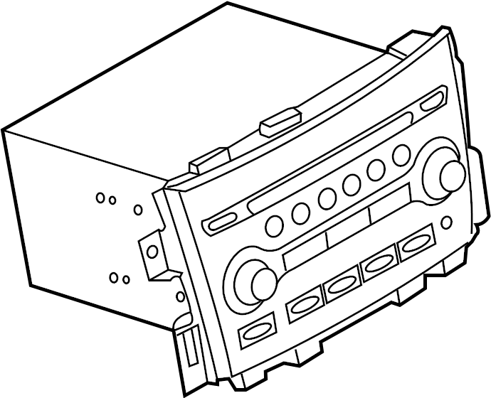 Nissan Pathfinder Controller IT Master. Radio Control Unit