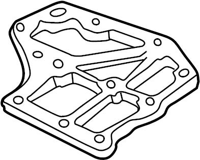 Nissan Versa Transmission Filter. LOWER, FIXING, CAL