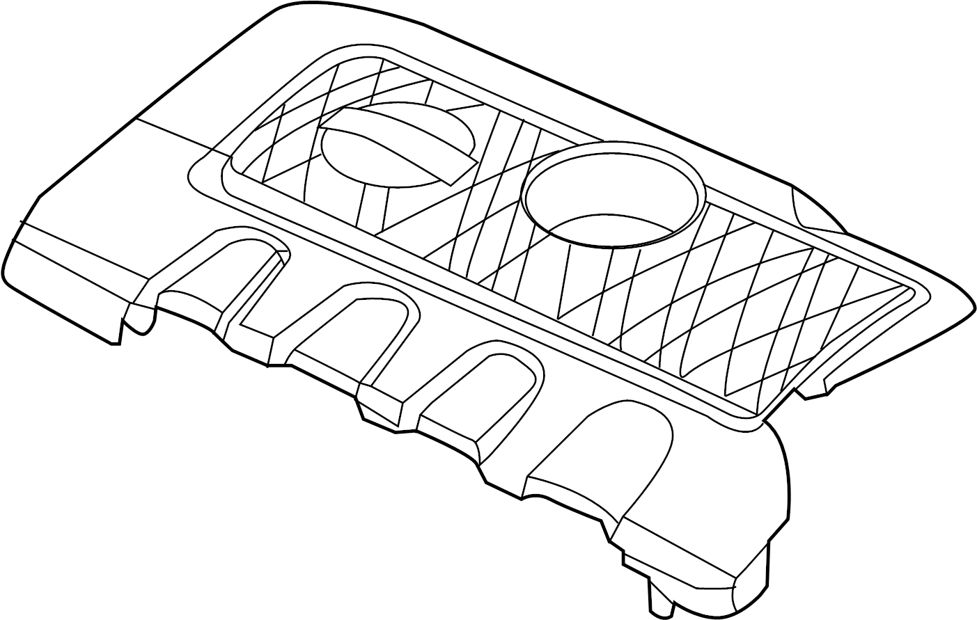 Nissan Sentra Engine Cover Exhaust