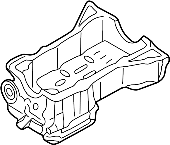 Nissan Maxima Engine Oil Pan. COMPONENT, ASSEMBLY