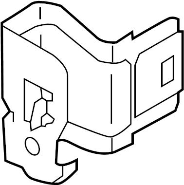 Nissan Versa Note Fuse Box Bracket. ROOM, ENGINE, HARNESS