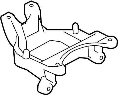Nissan Versa Manual Transmission Mount Bracket (Left