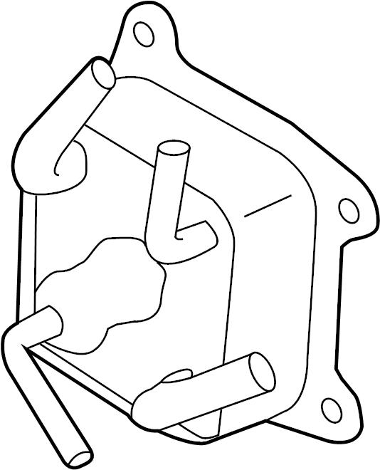 Nissan Altima Engine Coolant Hose. CVT, FITTING, ASSEMBLY