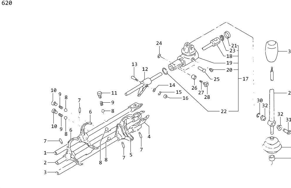 Nissan Maxima Pin Stopper Guide. Plunger Return Spring