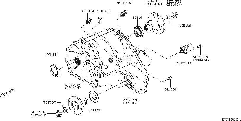 Nissan Titan Switch 4Wd. Switch Coml 4Th. MWB, LWB, DIESEL