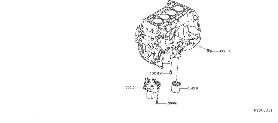Nissan Sentra Engine Coolant Temperature Sensor