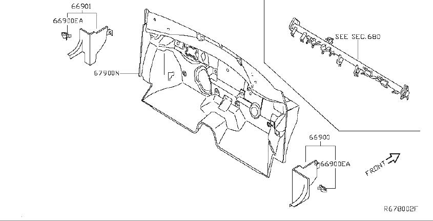 Nissan Altima Engine Compartment Insulation (Lower). BODY