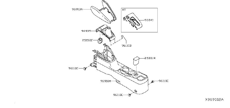 Nissan Versa Automatic Transmission Shift Indicator