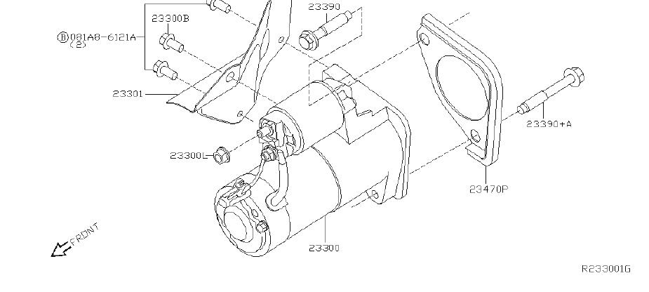 [DIAGRAM] 2003 Nissan Xterra Starter Diagram FULL Version