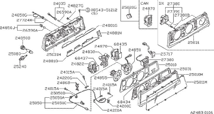 [DIAGRAM] Datsun Stanza A10 Body Electrical And Wiring