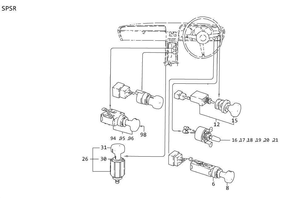 1995 Nissan Pickup Ignition Switch Diagram : 2000 Nissan