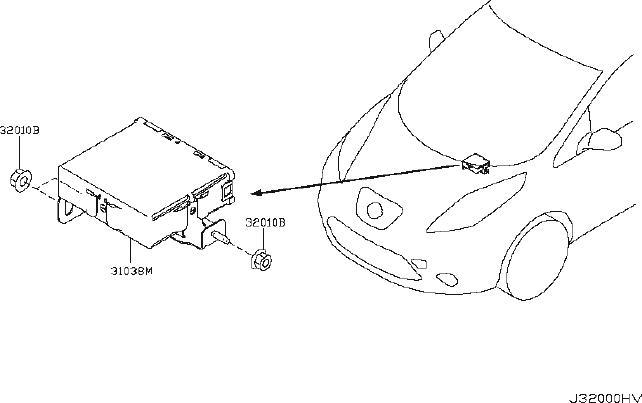 Nissan Leaf Srs product. Hose breather. Gear, reduction