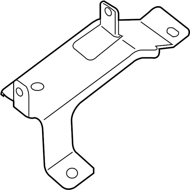 2015 Nissan Frontier Mobile Phone Control Module Bracket