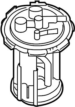 2014 Nissan Xterra Fuel Pump Inner Tank. Pump Complete