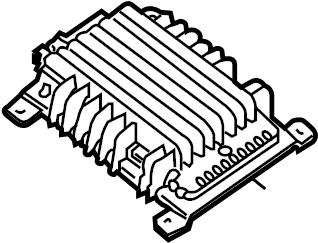 Nissan Pathfinder Radio Amplifier. SAT, AUTO, SYSTEM