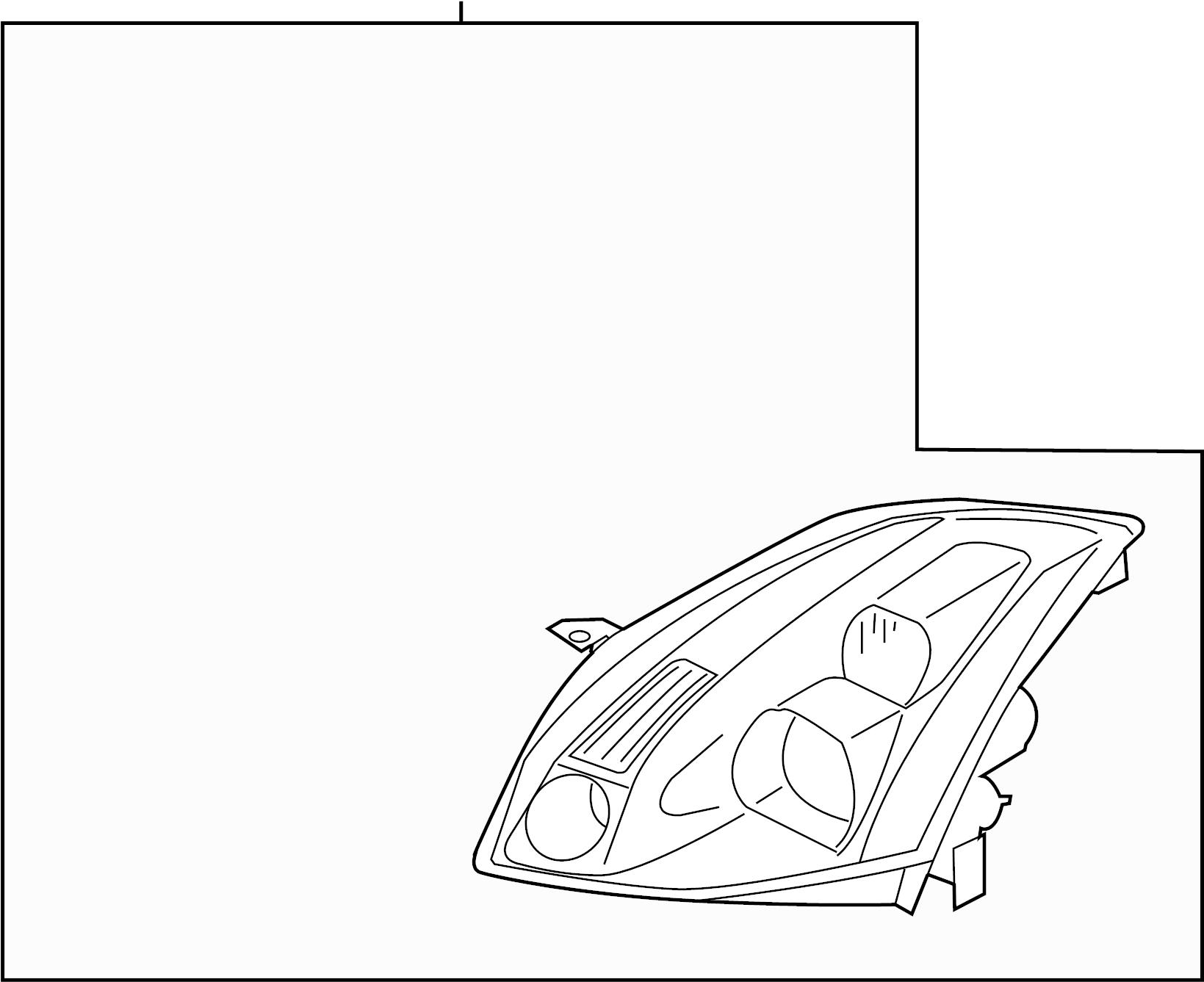 Nissan Maxima Headlight Left