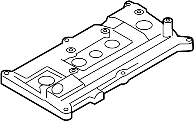 Nissan Sentra Engine Valve Cover. HEAD, CYL, COMPONENT