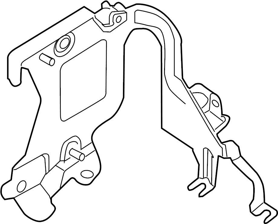 2015 Nissan Pathfinder Engine Control Module Bracket