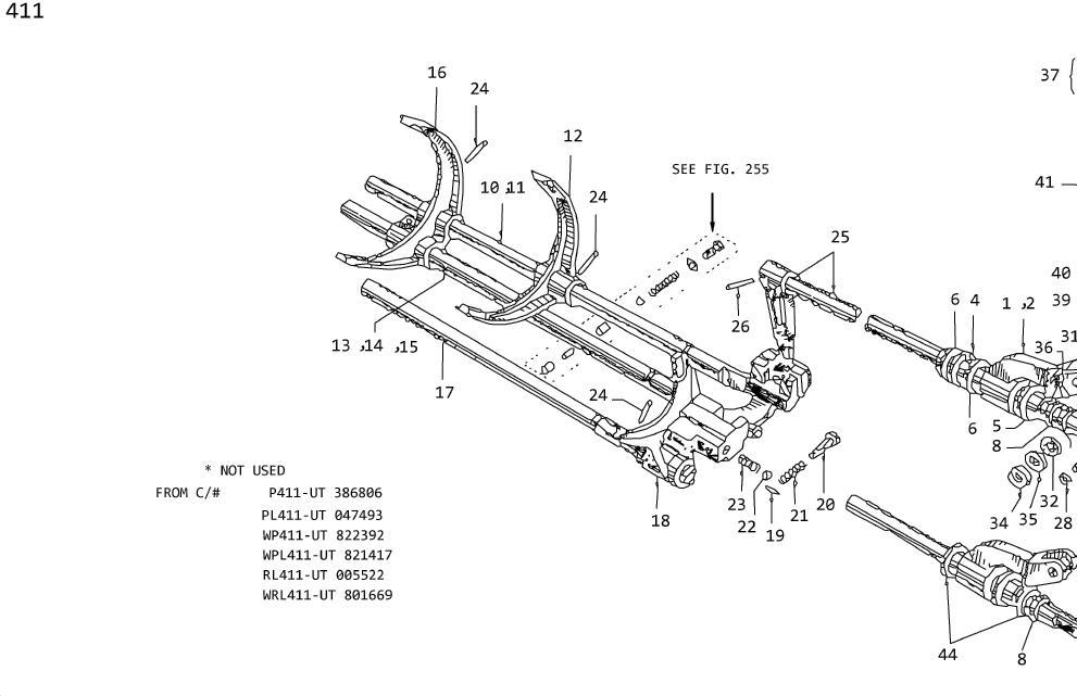 1979 Nissan 310 Pin Retainer, Speedometer Pinion