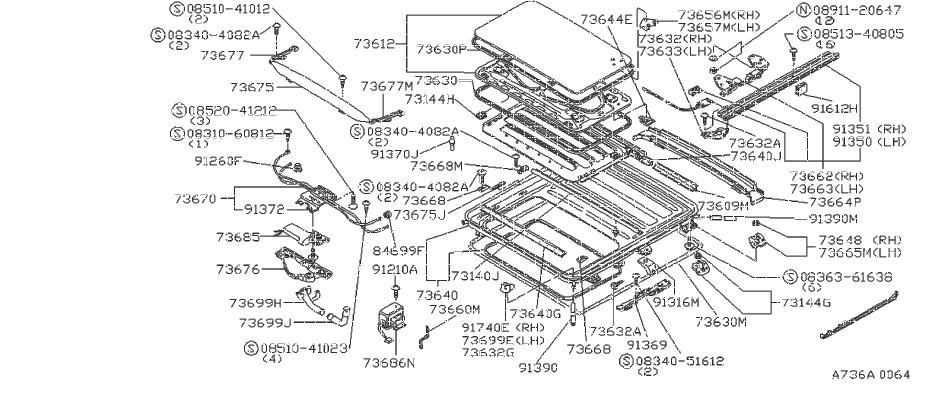 Nissan Maxima Bumper Lid. Rubber Drain Bumper. REAR, DOOR