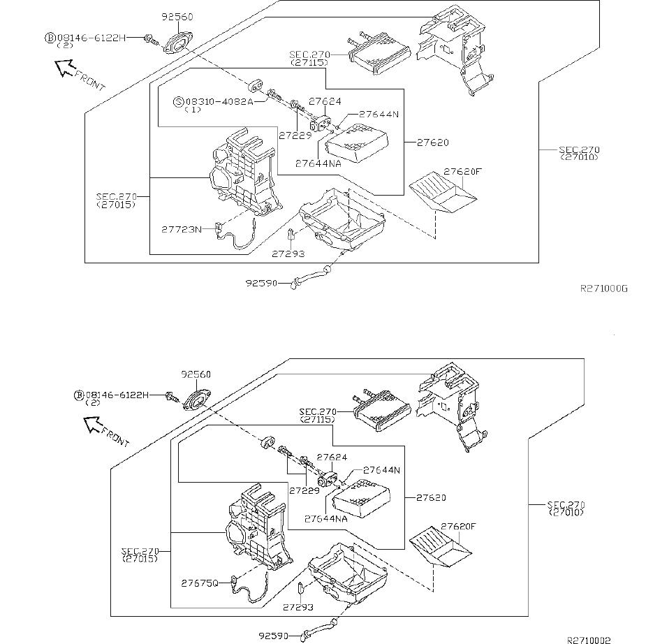 Nissan Sentra Hvac Evaporator Temperature Switch