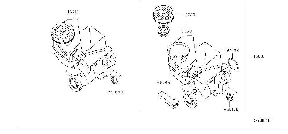 Nissan Altima Brake Master Cylinder Reservoir Cap. BOSCH