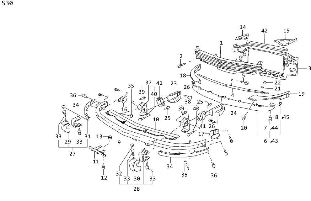 Datsun 240Z Bolt Fuel Tank Mounting L. Nut Flange M10. Nut