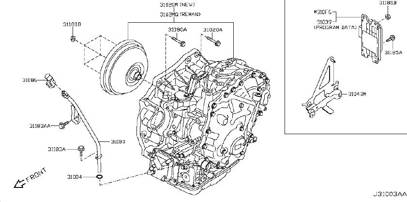 Nissan Rogue Automatic Transaxle. Automatic Transmission