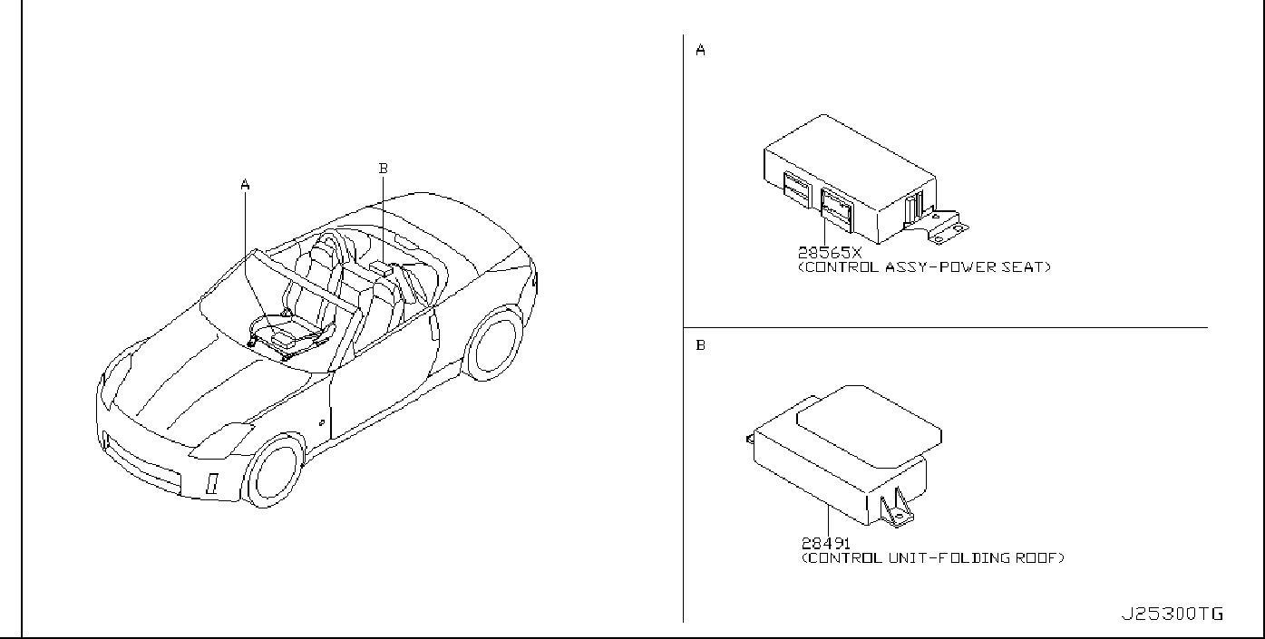 Nissan Altima Ignition Immobilizer Module. BODY