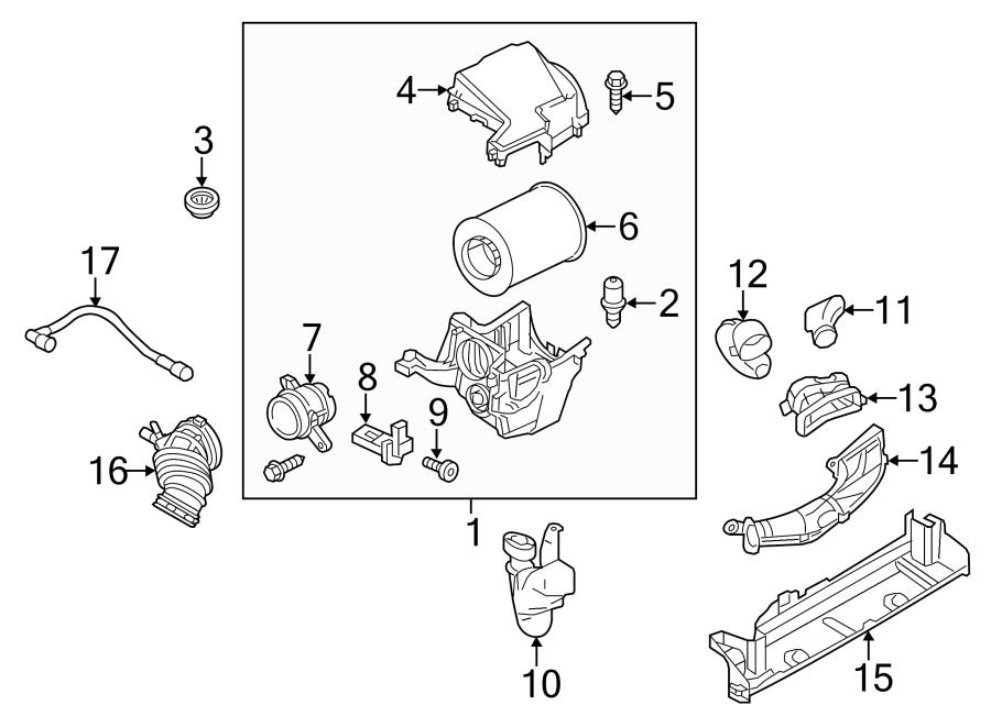 Ford Escape Air mass sensor. MASS AIR FLOW SENSOR. Ford