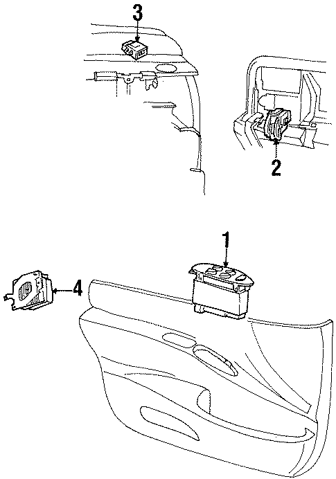 Lincoln Continental Controller. Fuel Pump Driver Module