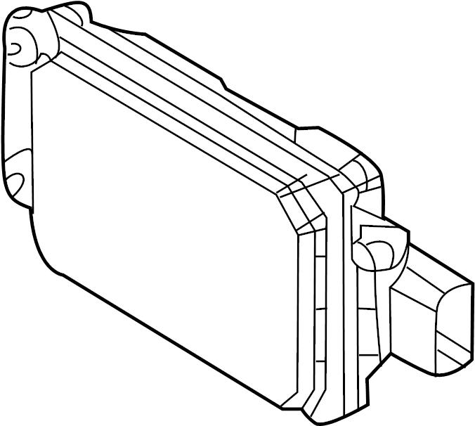 Lincoln MKS Cruise Control Distance Sensor. Adaptive