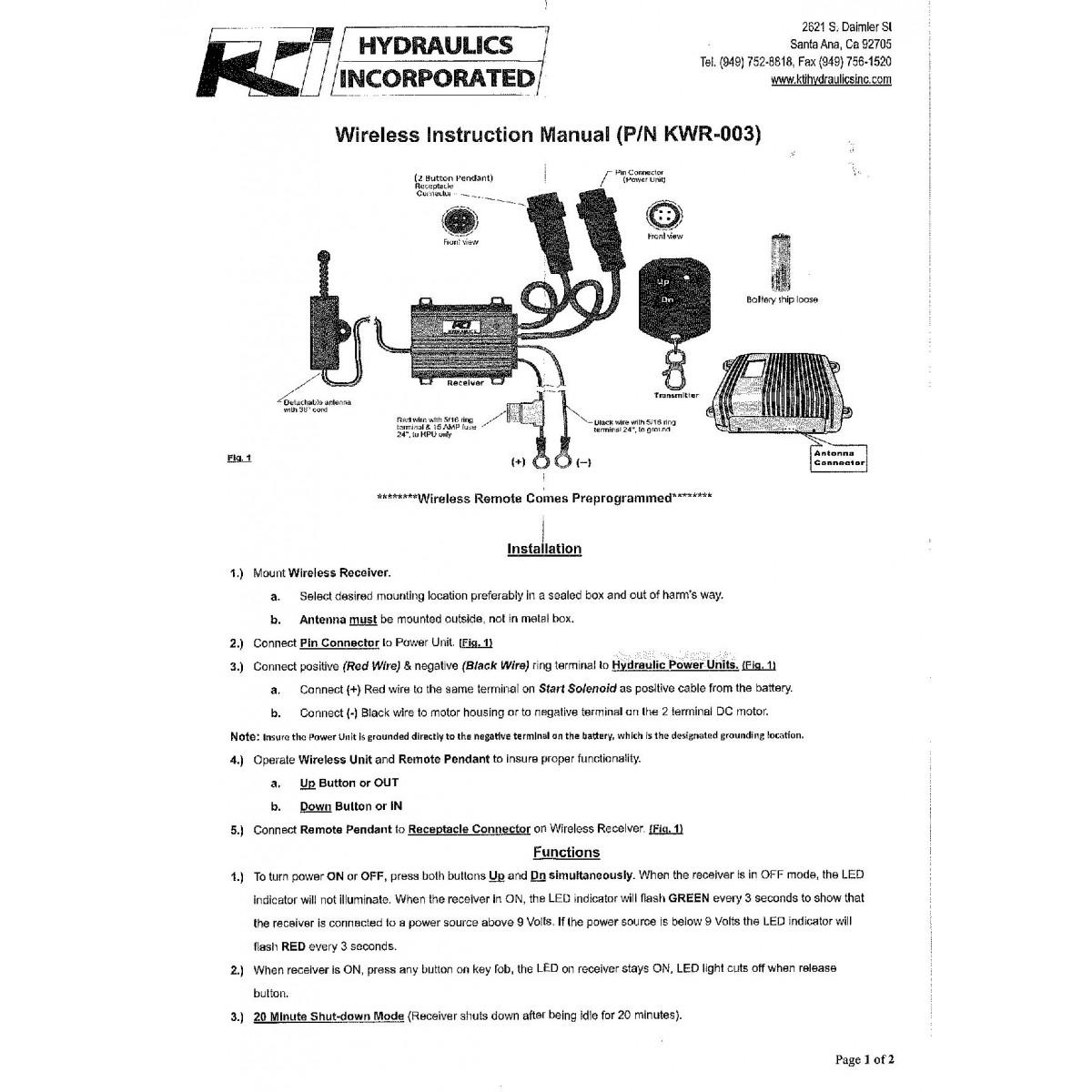 hight resolution of kti pump 12 volt wiring diagram