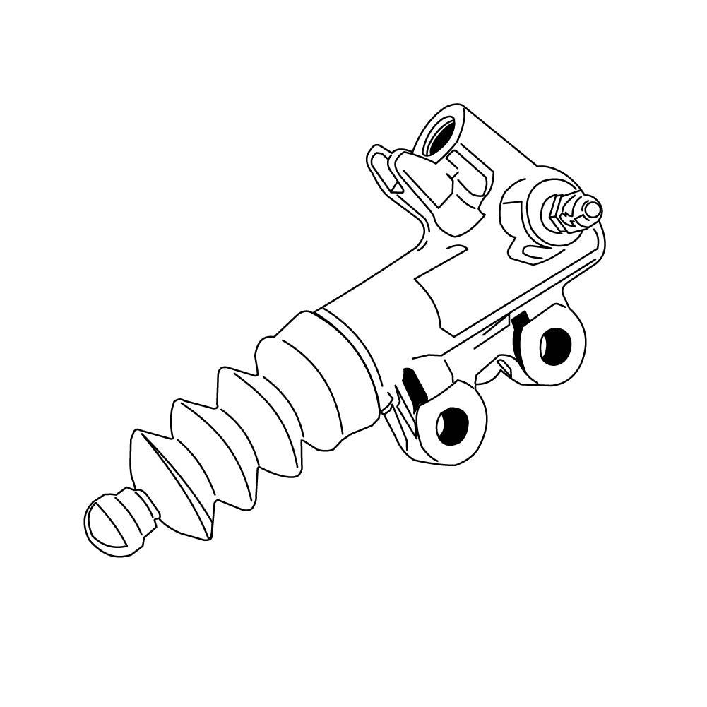 Lexus SC 300 Clutch Slave Cylinder. Driveline