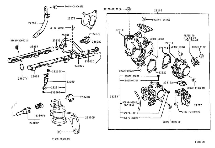 Lexus ES 300 Fuel Injection Pressure Regulator O-Ring