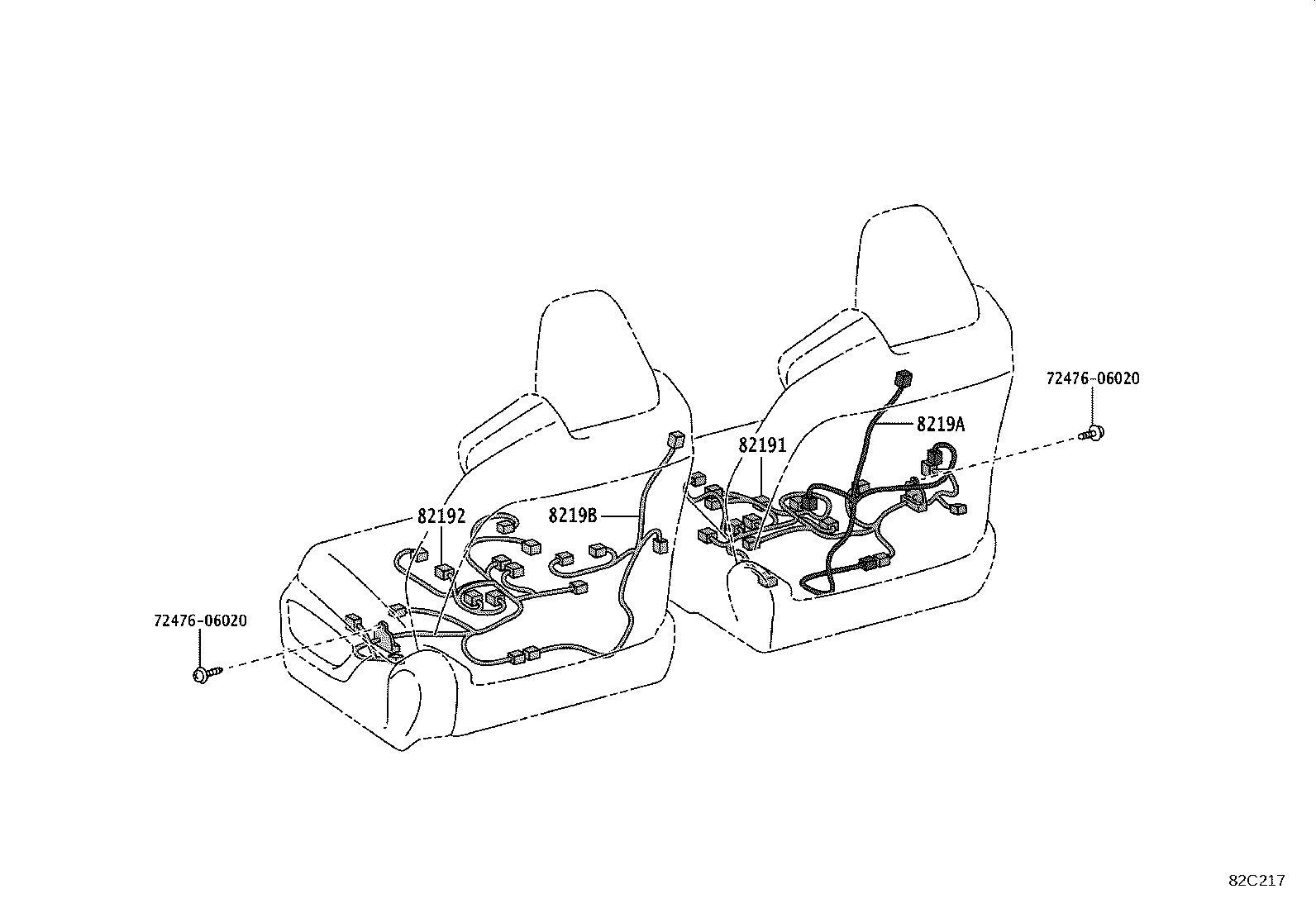 Lexus Es 350 Protector Wiring Harness No 3 Wiring