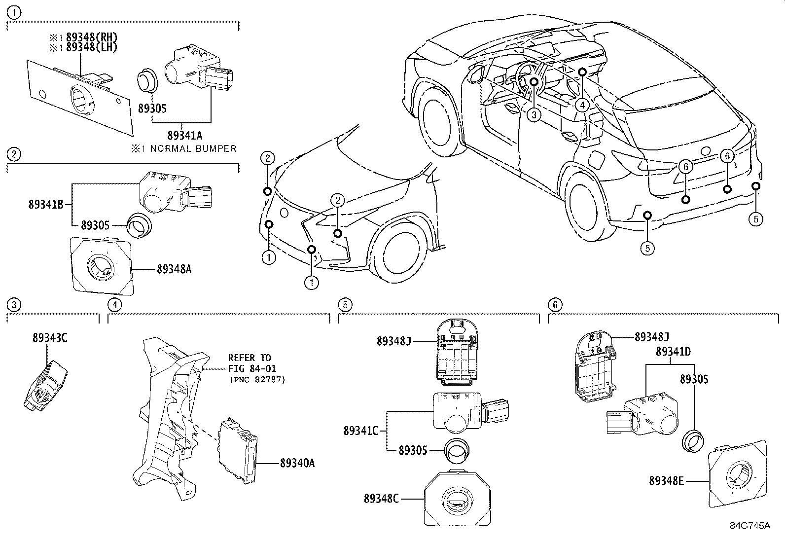 Lexus Rx 450h Retainer