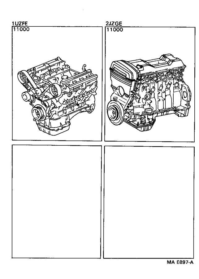 Lexus SC 400 Cord, spark plug resistive, no. 7. California