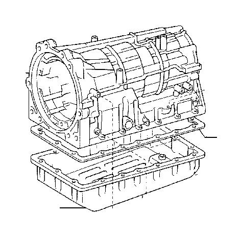 Lexus LX 470 Case sub-assembly, automatic transmission