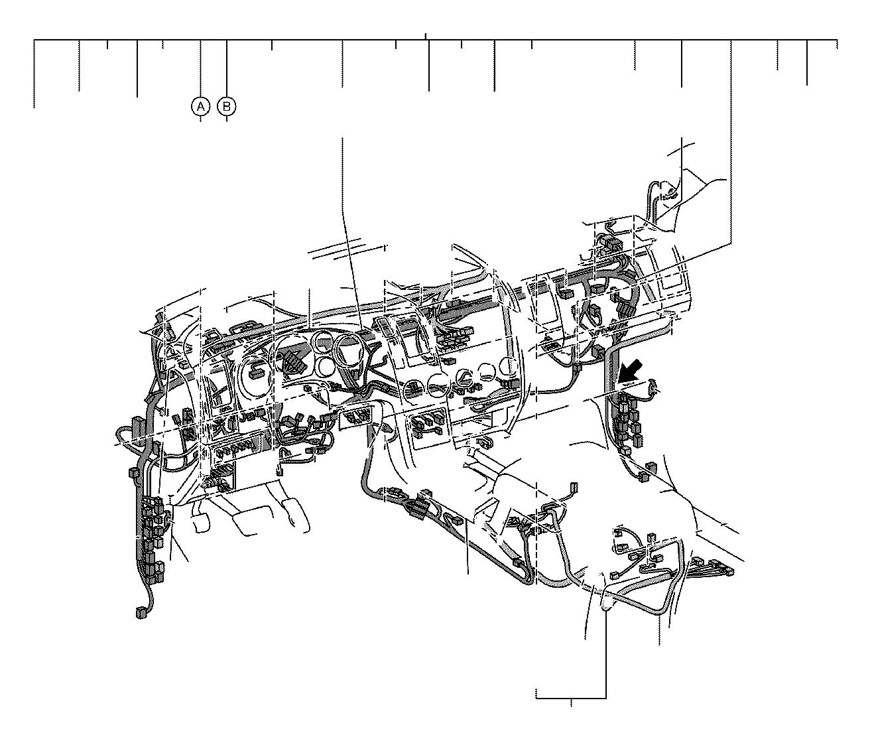 Lexus RX 350 Connector, wiring harness. Engine, seat, door