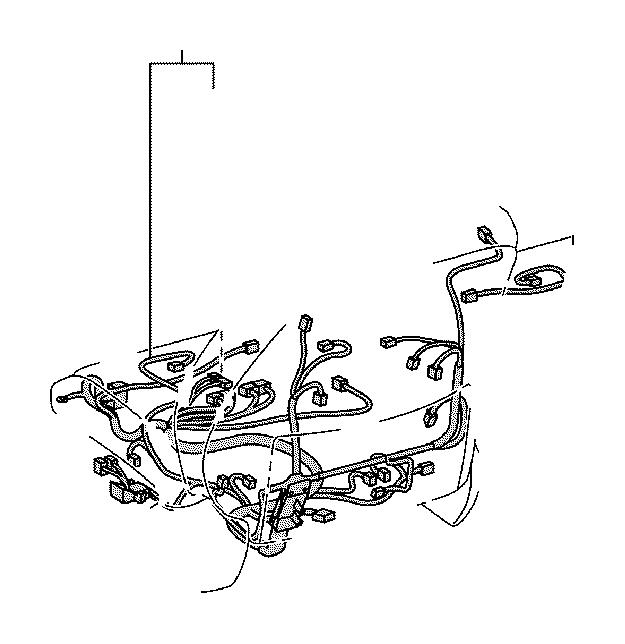 Lexus GS 350 Holder, connector no. 9. Engine, seat, room