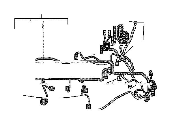 Lexus GS 350 Wire, engine room, no. 2. Clamp, bracket