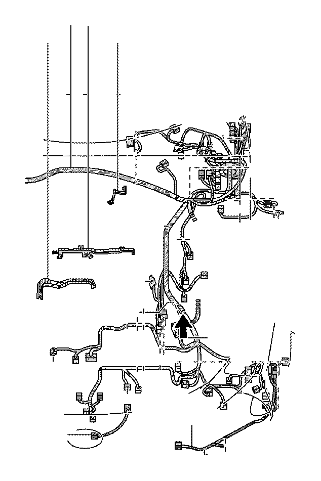 Lexus LS 500 Protector. Wiring harness, no. 12; wiring